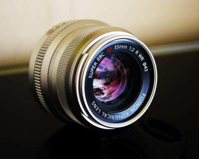 Fuji Fujinon XF 23mm F/2 R WR Silver Prime Lens in Box