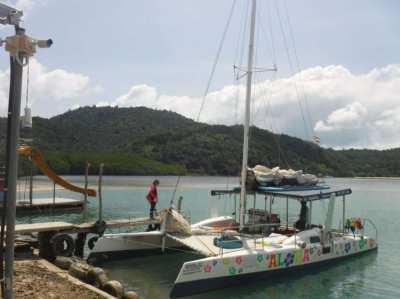 Share ownership sailing catamaran