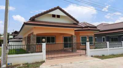 One story house for sale East Pattaya. Close to Motorway 7-Nongprue.