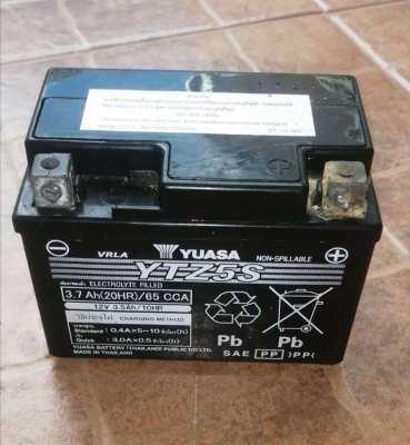 Yuasa motorcycle battery 12V