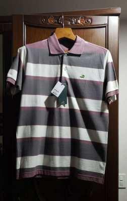 New Mens Crocodile Polo Shirt