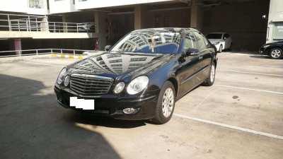 2008 Benz E300 V6 3.0 (imported) black 79,880KM very good condition