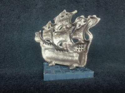 Vintage Brass Ship decor