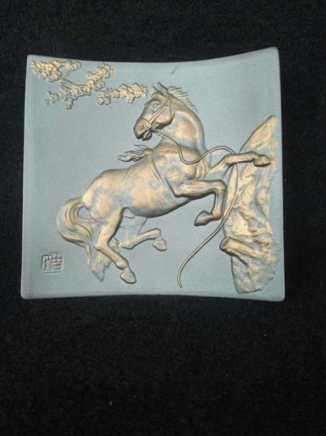 Vintage Ceramic Horse plate