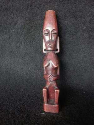 Vintage Sudan Carved Human