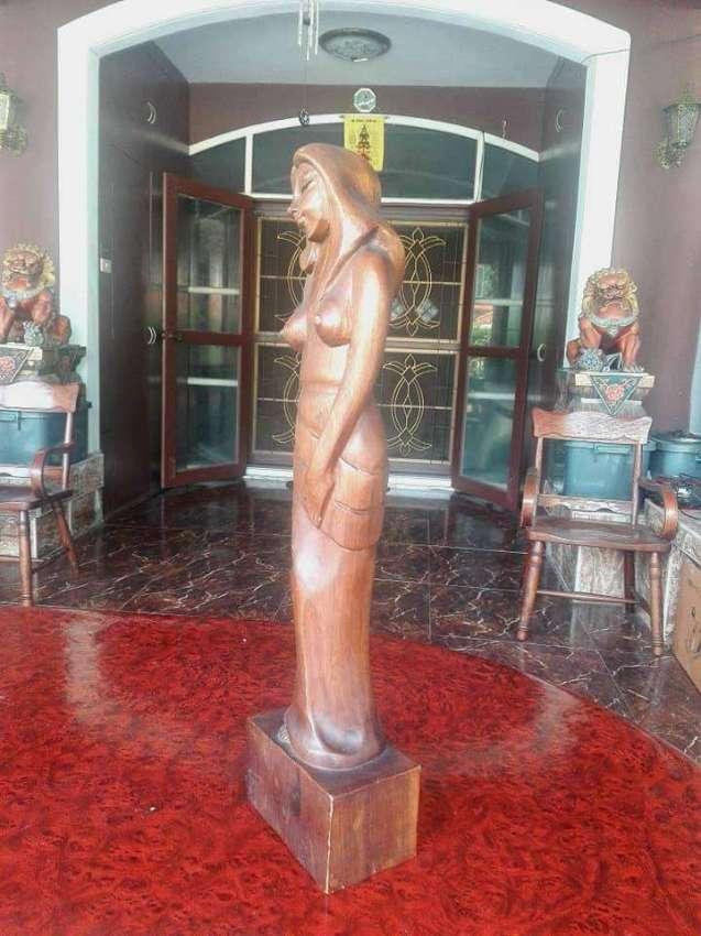 Vintage Wooden Carved Women