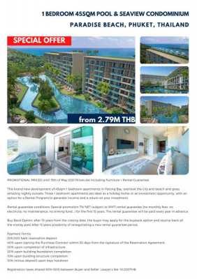 Sea view condo for sale