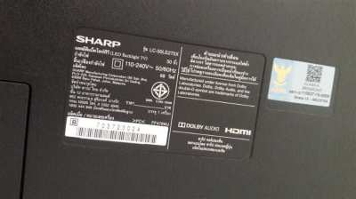 "Sharp 50"" LED TV big screen"