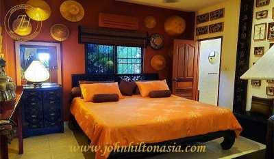 3 bedroom, 3 bathroom, pool villa in Hua Hin for sale.