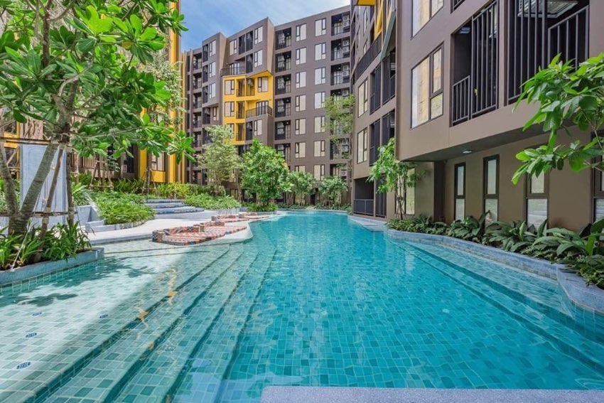 The Base Central Phuket New condo available for rent
