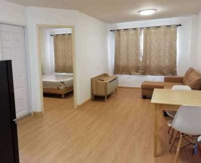 LPN Bodin Ramkamhang TowerD3 FL8 Big Size 35sqm New Furniture Minimal