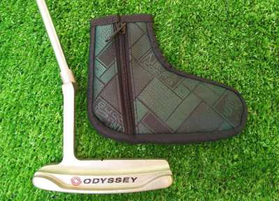 Odyssey DuelForce 668 putter with cover, FREE shipping.