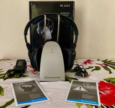 Sennheiser RS120 II On-Ear Wireless RF Headphones