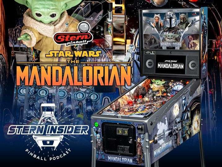 The Mandalorian – Stern pinball imported from the US