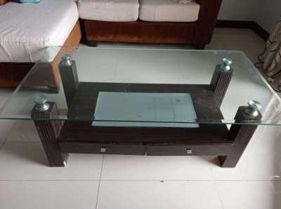 Glass Coffee Table 120X60