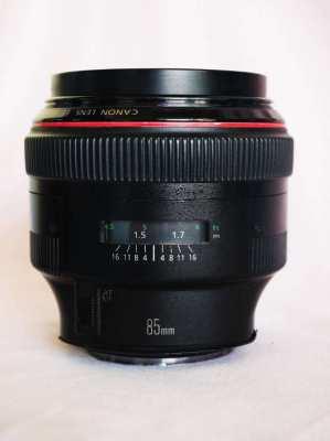 Canon EF 85mm F1.2L II USM Professional L-series Lens