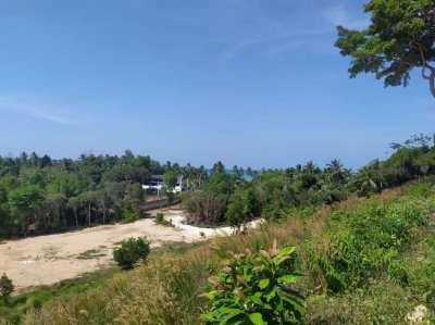 Seaview land for sale koh Phangan
