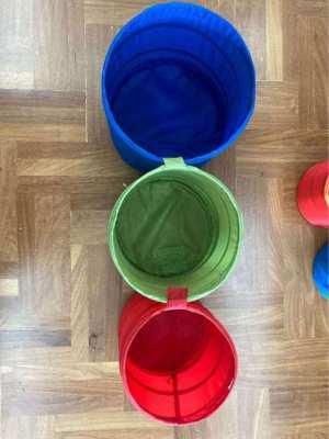 Kids storage bins with free purse