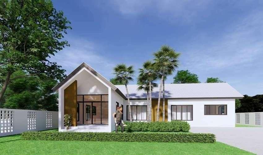New house for sale in  Sansai zone 5 km. From Mae Jo University