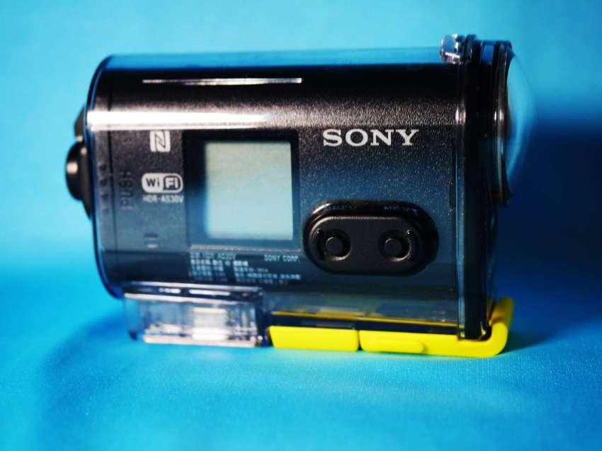 Sony HDR-AS30V Black Action Cam, GPS, Wi-Fi, NFC, SplashProof Full HD