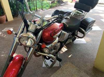 Honda Phantom motorbike in Hua Hin