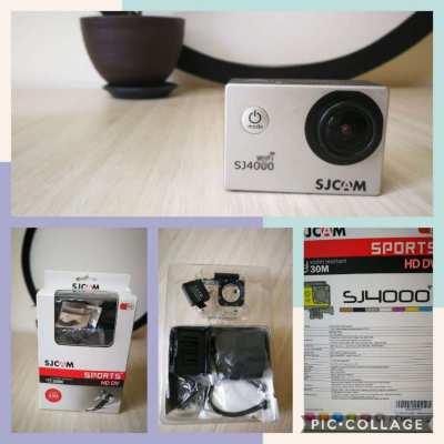SJ 4000 wifi series action camera + kit + extra battery