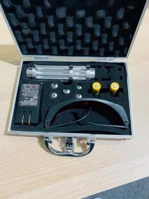 High power range blue laser pointer