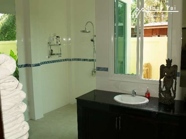 #3168  Spacious stand alone villa in Huay Yai village centre. Maids Rm