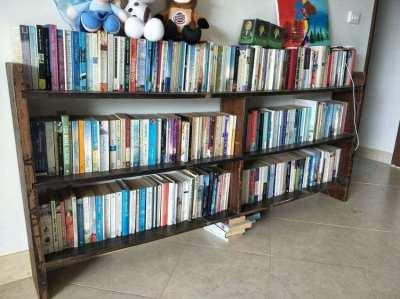 BOOKS & SHELVES