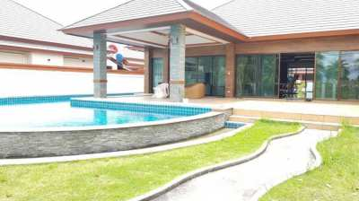 Luxury Pool villa with land size 800 SQM. in Pattaya City, Thailand