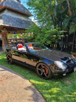 ขาย Benz SLK R170 สีดำ ไม่ขายทะเบียน