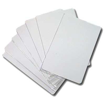 บัตร PVC จำนวน 10 ใบ สำหรับเครื่องพิมพ์ ink jet ทุกยี่ห้อ