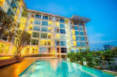 Cosy furnished condo with open view and large blacony