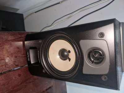 Onkyo active speaker monitors