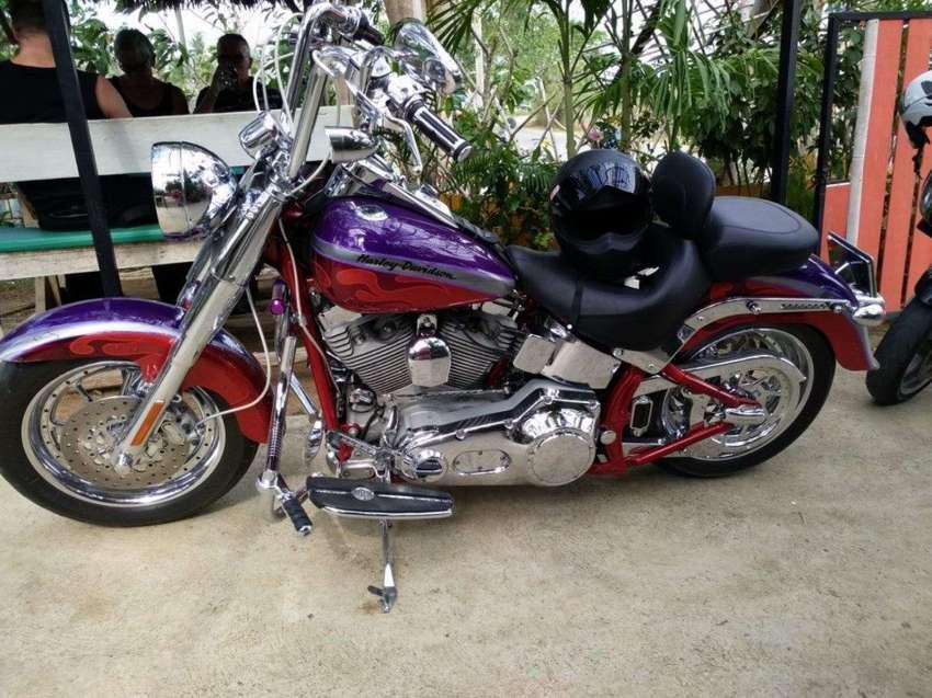 Harley Davidson Fat Boy CVO