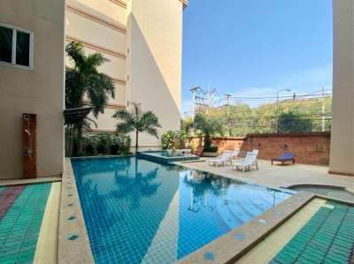 SUPER price. BIG 1 bed 108 sq.m with Sea view on Prataumnak