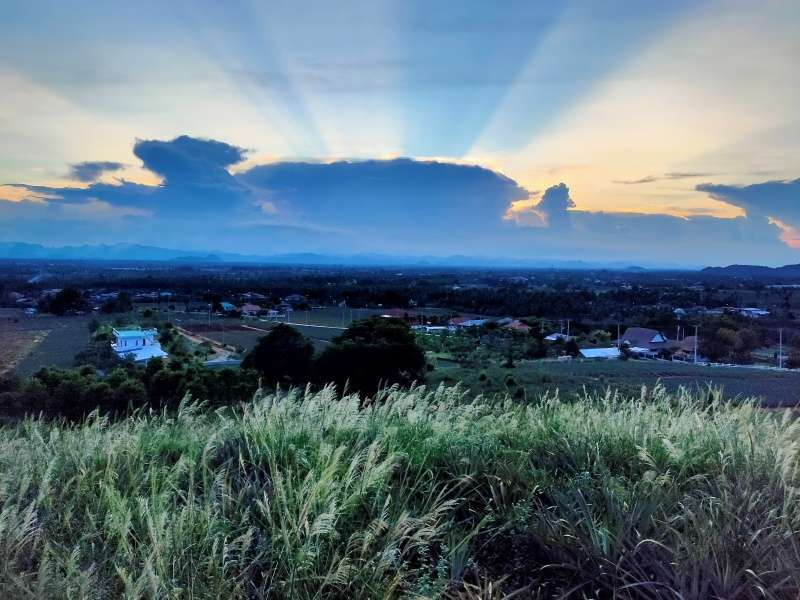 One of a Kind 6-3-76 Rai Hilltop Land Plot with Extraordinary Views!