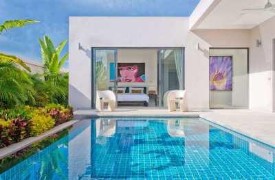 Modern Style Pool Villa for sale