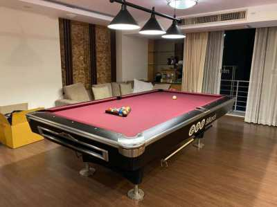 2nd hand pool table 9ft with acc and lights to pickup 90k inst of 140k
