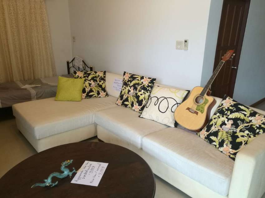 Huge Four Piece Sofa Set