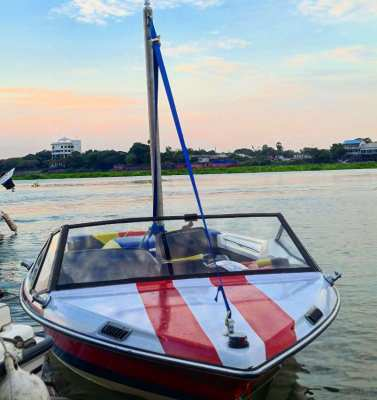 1990 Classic Mastercraft Prostar 190 with Trailer and Tower