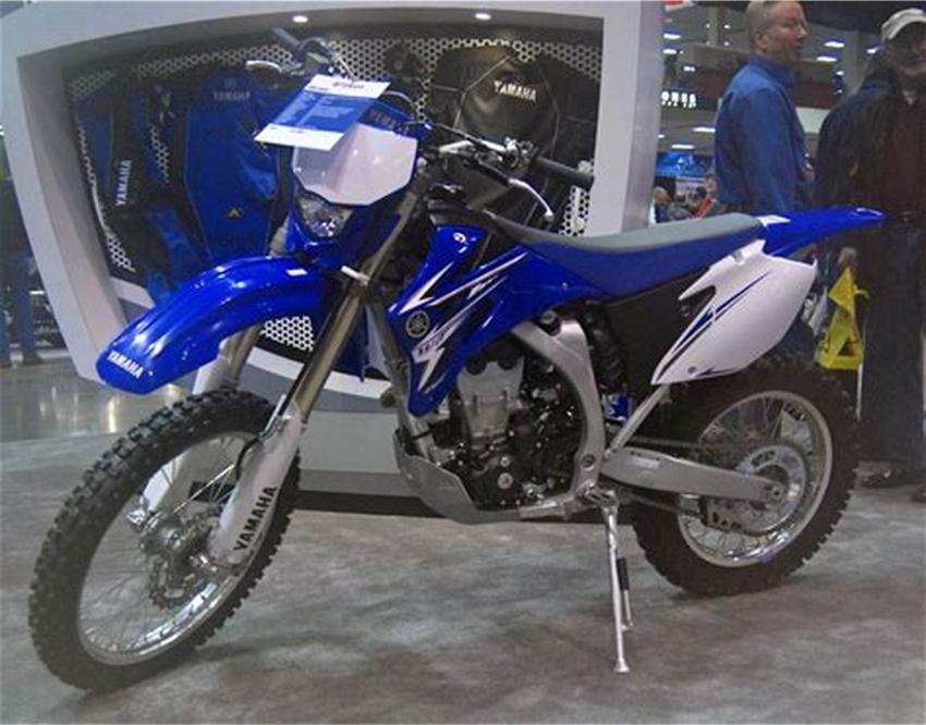 2021 Yamaha WR450F Motorcycle