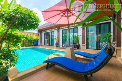 2 Bedroom Pool Villa in Rawai