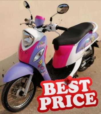12/2014 Yamaha Fino 17.900 ฿ Finance by shop