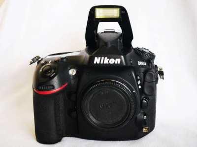 Nikon D800 36.3MP Professional DSLR Camera, Dual card slots