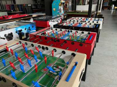 Foosball table Stadium - Made in Italy - Quality for 39k baht only!