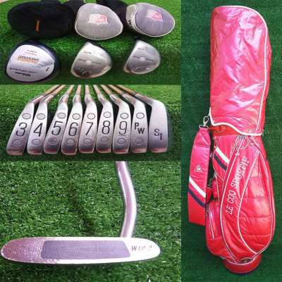 Full set of Wilson golf clubs in bag, Free shipping Nationwide
