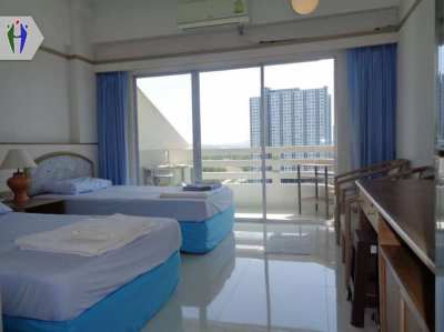Condo for Rent 4,000 baht Jomtien  Pattaya, 1 month security deposit.