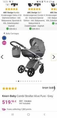 Premium Baby Car Knorr Baby Alive