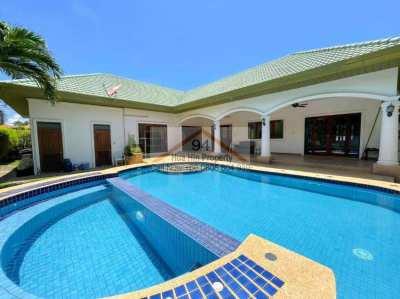 <6m Bargain Priced 3 BR Pool Villa Stuart Park, Khao Tao South Hua Hin
